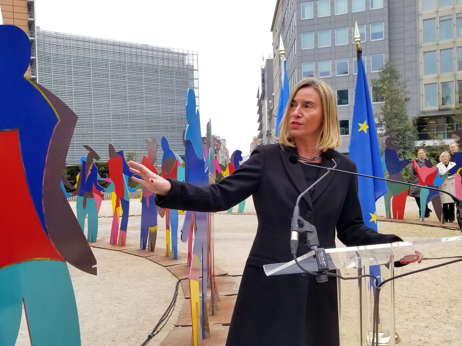 EU Policy Chief, Federica Mogherini