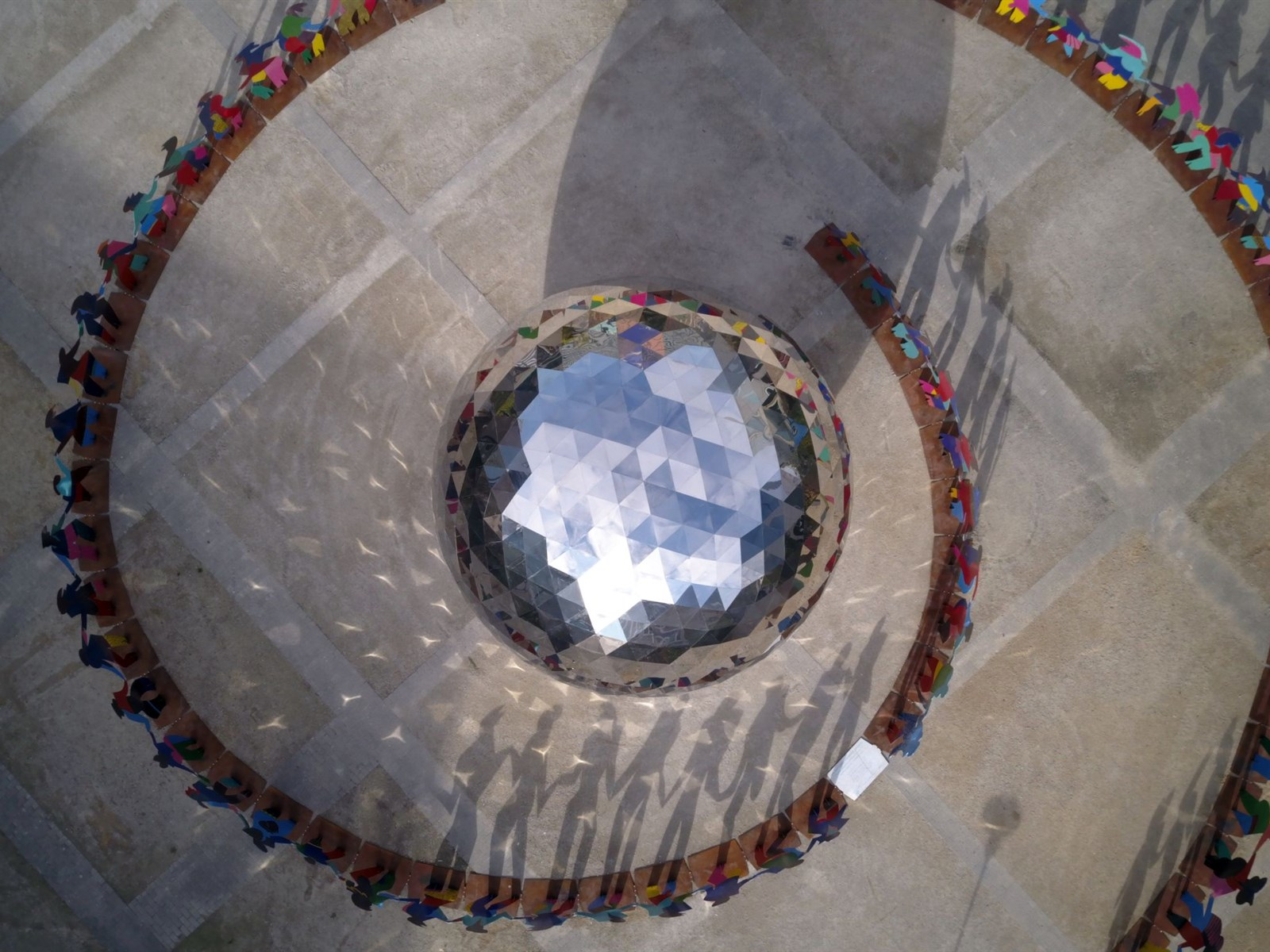 Enlightened Universe, areal view